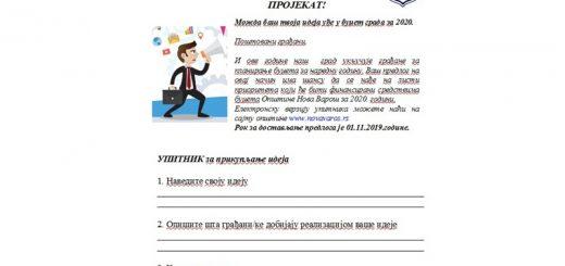 Nova Varoš budžet