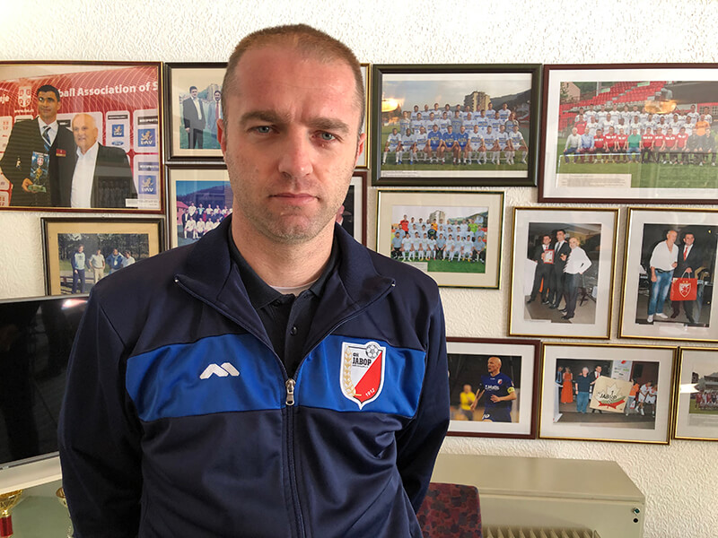 Igor Bondžulić trener Javor Matisa
