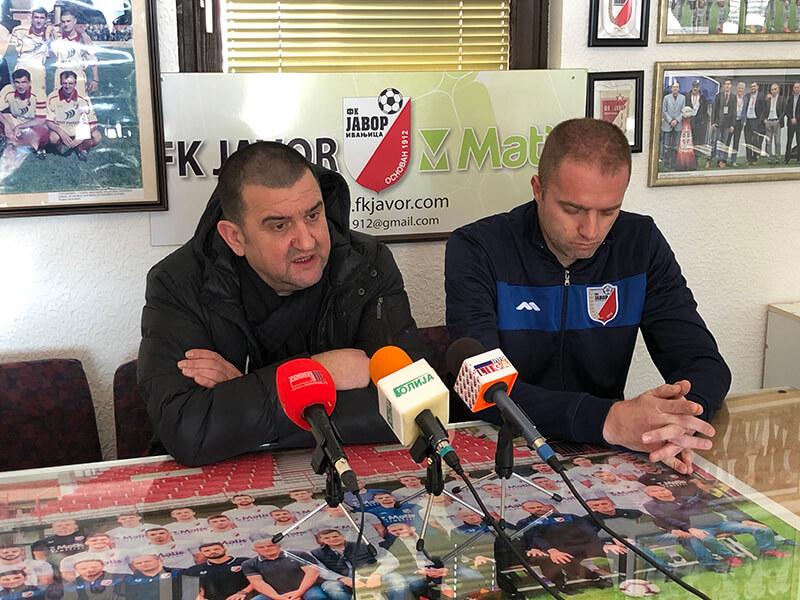 Javor Matis predsednik Lazović i trener Bondžulić
