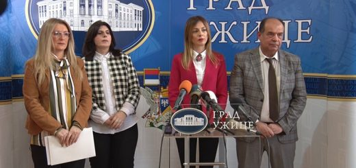 Gradonačelnik Užica Tihomir Petković