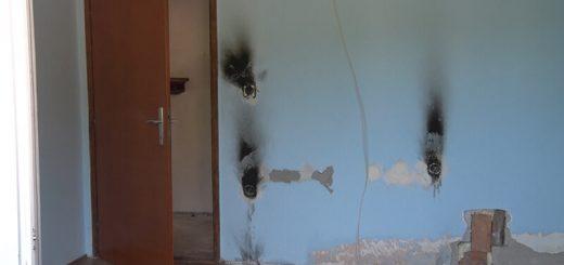 Požar u kući Knežević