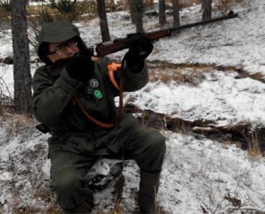lovac u hajci