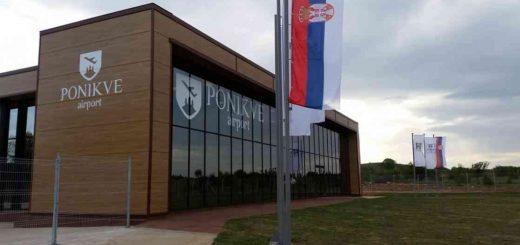 Zgrada aerodroma na Ponikvama