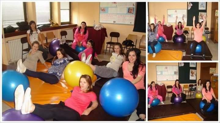 Pilates u Savetovalištu za trudnice