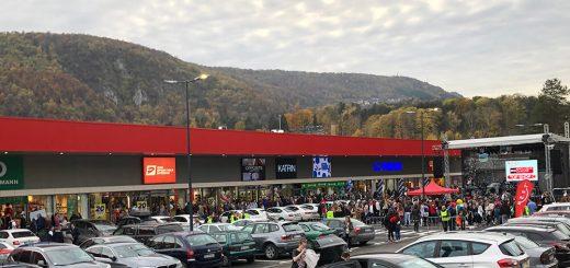 Otvaranja trgovinskog centra Retail park NEST