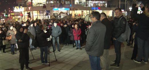 Užički prosvetari protestvuju protiv nasilja