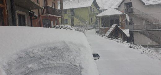 Prvi sneg 2019