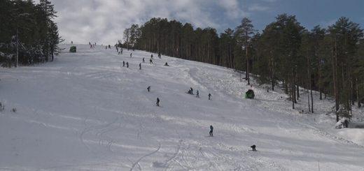 Gužva na ski stazama Tornika