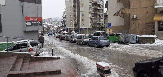 sneg zima