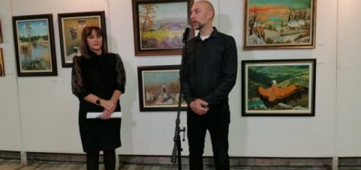 Izlozba slika Dani kulture u Novoj Varosi