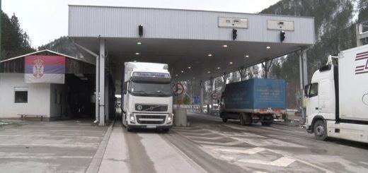 Granični prelaz Kotroman prema BiH