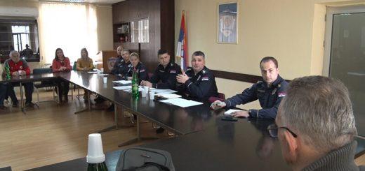 Predstavnici sportskih klubova sa policijom