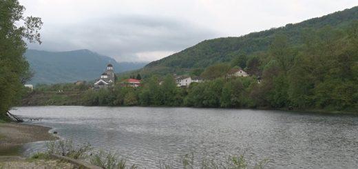 Skelani preko Drine