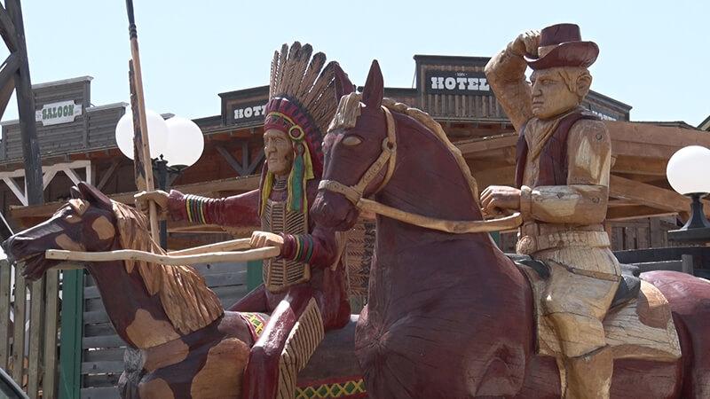 Kauboji i indijanci na Zlatiboru