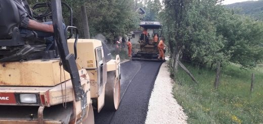 MZ Volujac asfaltiranje