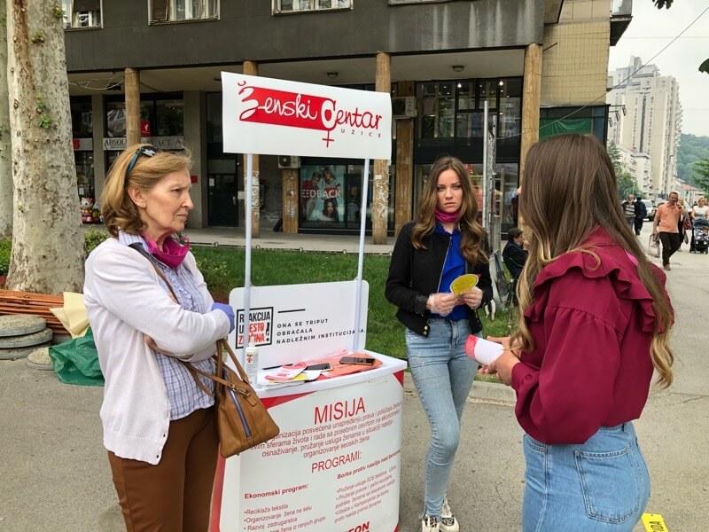 Ženski centar u Užicu obeležio 18. maj