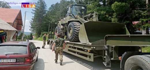 Vojska sanira puteve u Ivanjici
