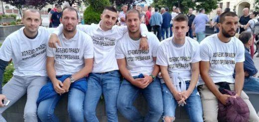 štrajk fudbalera