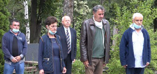 Partizansko groblje polaganje cveća