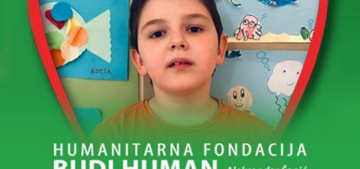 u borbi za ozdravljenje malog Koste Josipovića