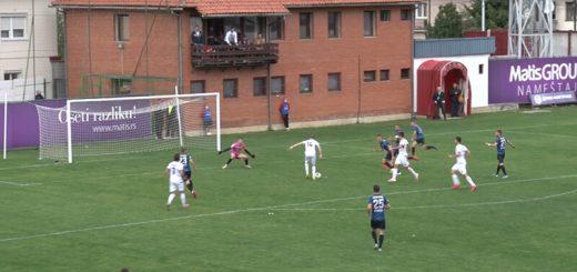 Radivojević postiže izjednačujući gol