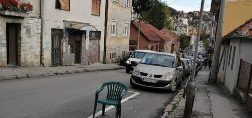 užičani rezervišu parking mesto