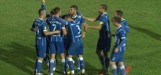 Jovanović postigao vodeći gol za Slogu
