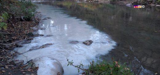 Nepoznata supstanca u reci Moravici
