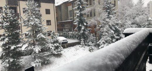 Sneg se zabeleo na Zlatiboru
