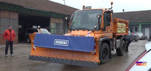 JKP Ivanjica dobilo novu mašinu
