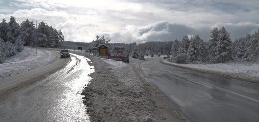 Snežne padavine na Zlatiboru