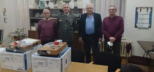 Rezervne vojne starešine dobile informatičku opremu