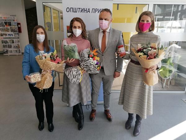 Poverenica i ambasadorke u poseti Priboju