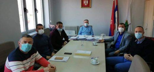 Delegacija opštine Požega i Prijepolje