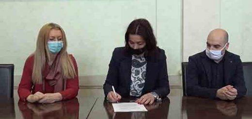 Potpisivanje ugovora o klimi i energiji