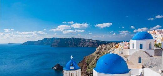 Ostrvo Santorini Grčka