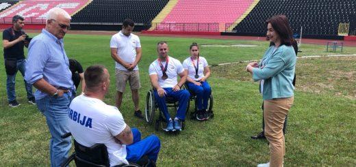 Gradonačelnica Užica posetila paraatletičare