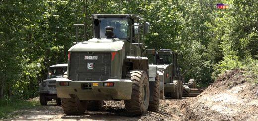 Vojska rekonstruiše put preko Golije