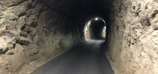 Osvetljen tunel 21 prema Staparskoj banji